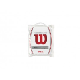 WILSON PRO OVERGRIP PERF WH 12pk