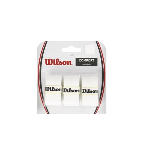 WILSON PRO OVERGRIP WH 3pk