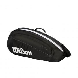 WILSON FED TEAM 3PK BKWH