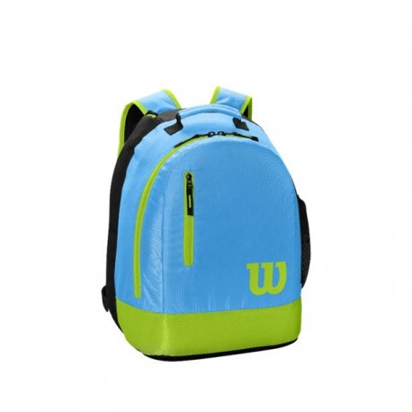 WILSON YOUTH BACKPACK Bl/Lime