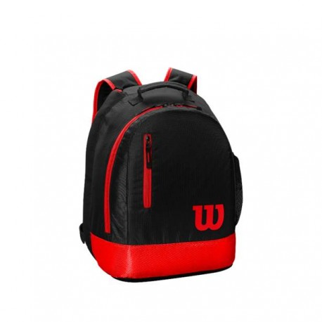 WILSON YOUTH BACKPACK BK/Red