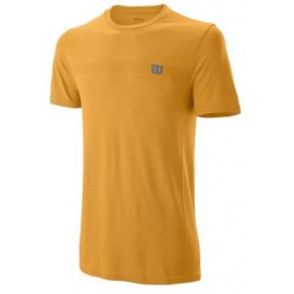 WILSON M COMPETITION SEAMLESS CREW BLAZING OR/M