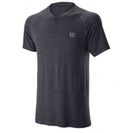WILSON M COMPETITION SEAMLESS HENLEY Ebony