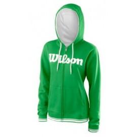 WILSON W TEAM SCRIPT FZ HOODY A Toucan/Wh