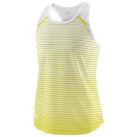 WILSON G TEAM STRIPED TANK Safety Yel/Wh