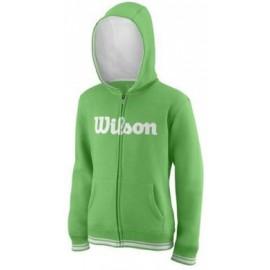 WILSON Y TEAM SCRIPT FZ HOODY A Toucan/Wh