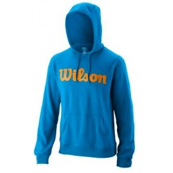WILSON M SCRIPT COTTON PO HOODY Brilliant /MAND