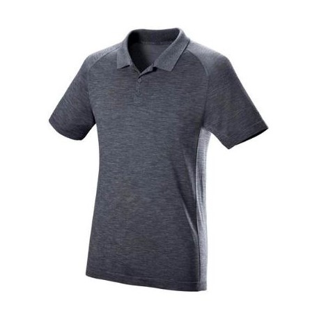 WILSON M F2 SEAMLESS POLO FLINT /Ebony