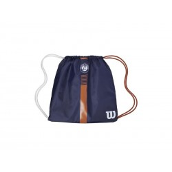 WILSON ROLAND GARROS CINCH BAG Ny/CLAY