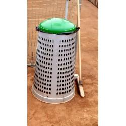 Odpadkové koše na tenisové kurty