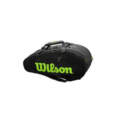 Wilson SUPER TOUR 2 COMP LARGE Charco/Green