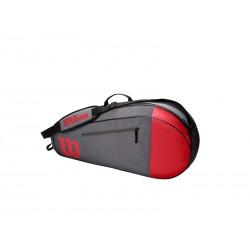 Wilson TEAM 3 PK Red/Gray