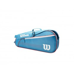 Wilson JUNIOR 3 PK Blue/White/Coral