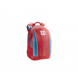Wilson JUNIOR BACKPACK Coral/Blue/White